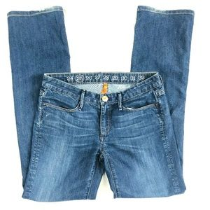 Earnest Sewn Women's Sz 25 Keaton Bootcut  Jeans